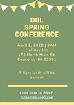 2020 DOL Seminar: Please Join us!