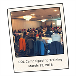 DOL Training - Well Attended & Highly Informative!